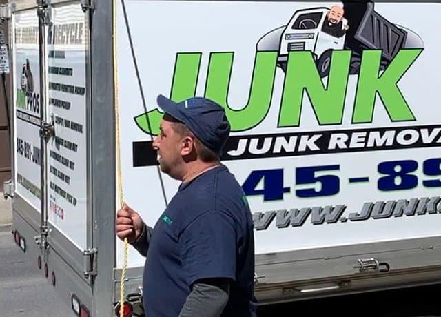Junk Pros NY expert offering dumpster bag rentals