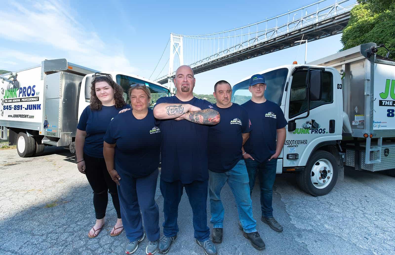 Junk Pros NY team