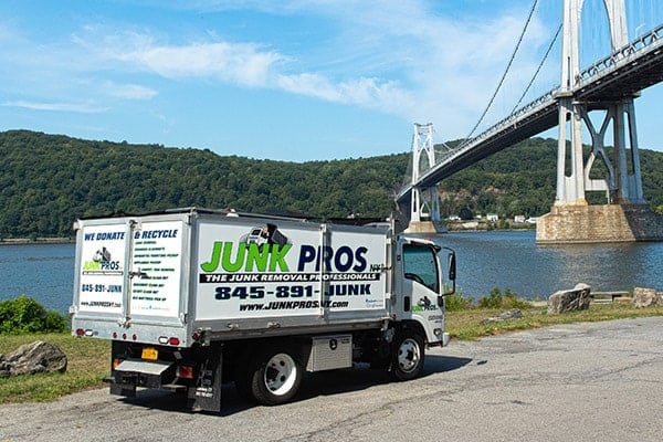 Junk Pros NY junk removal truck